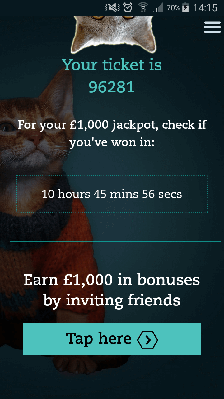 Raffler app referral code. Get £100 bonus using W62RN6