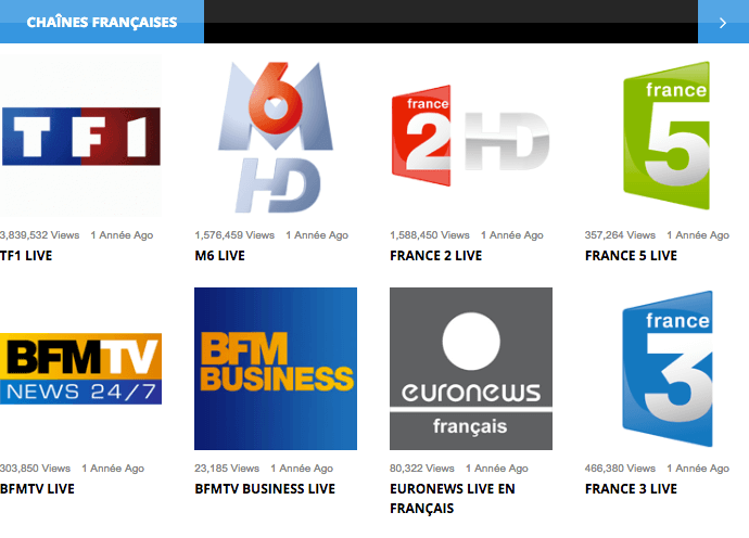 Watch French tv abroad