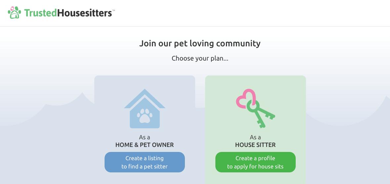 housesitter website