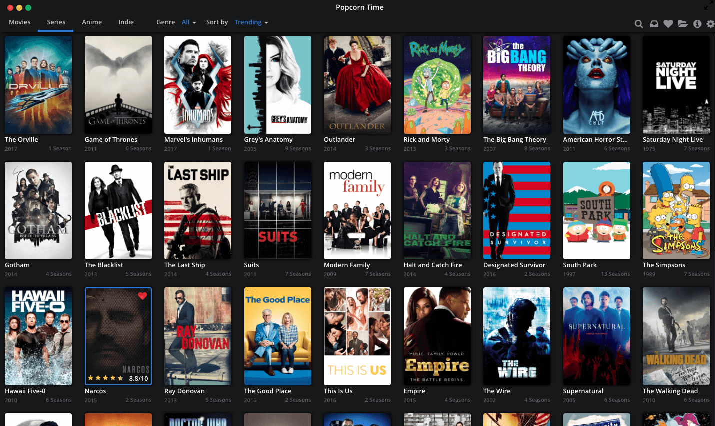 Popcorn time video pausing, resolve playback freezing