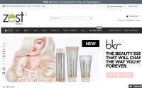 zest beauty website