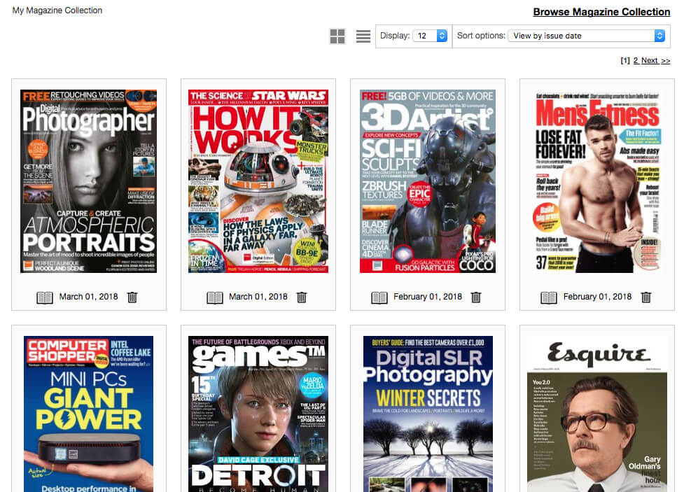 London Libraries Consortium, Top Magazines on your device for free