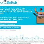 Relish refer a friend invite
