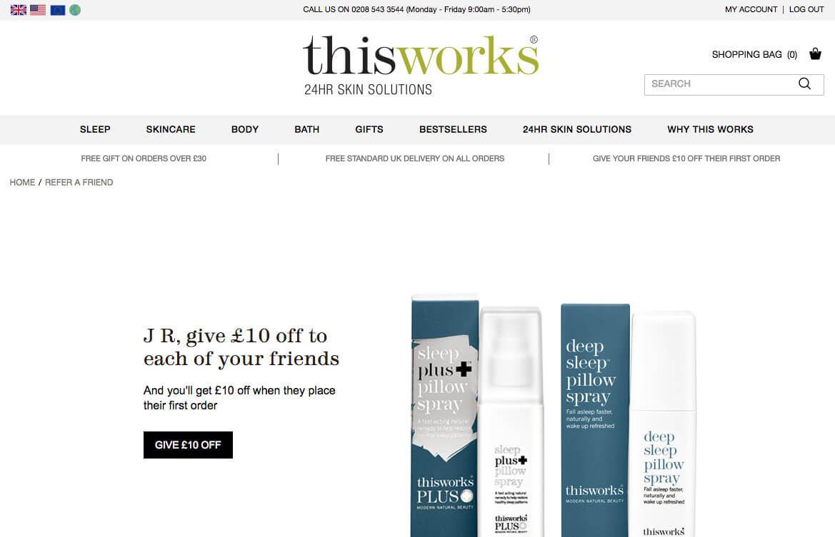 Thisworks refer a friend invite code voucher