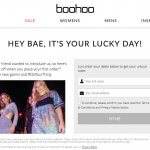 Boohoo refer a friend 25% off
