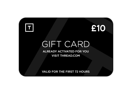 Thread 10 GBP gift card to start