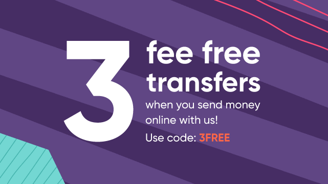 WorldRemit3 fee free transfers code coupon 3FREE