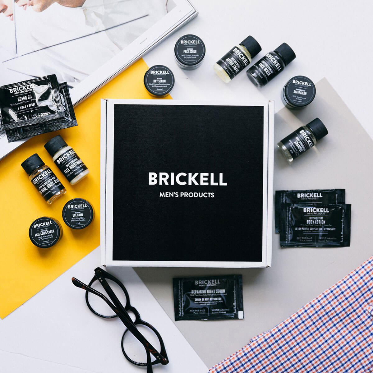 Brickwell men referral invite sample deal