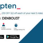 Kapten referral code £10 discount - Kapten refer a friend