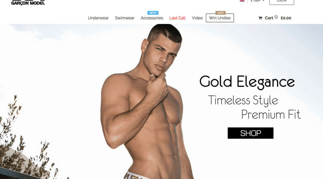 Garcon model underwear referral code