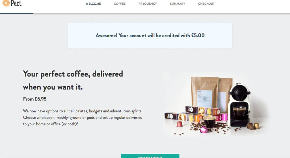 Pact coffee referral code £5 discount - code Pact coffee referral code £5 discount code GETPACKCOFFEE
