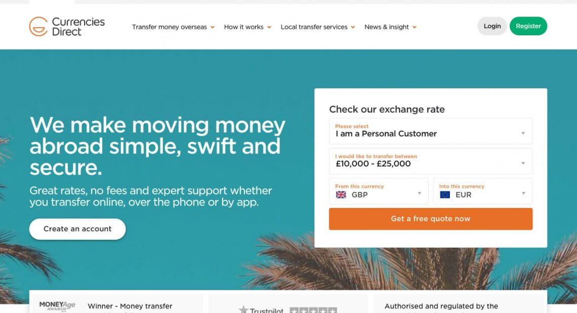 Currency Direct referral code - £50 Amazon voucher