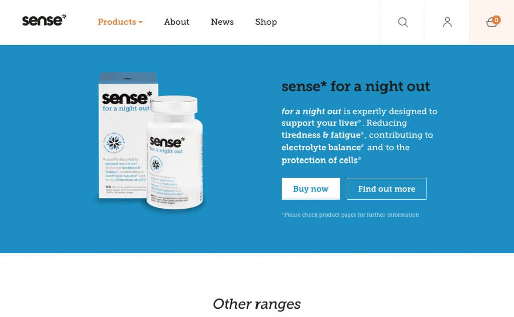 Sense Products referral code £5 with the coupon code ref0059616