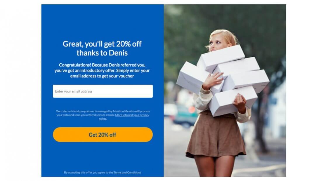 Parcel2go referral code - get 20% off discount with the refer a friend introductory offer