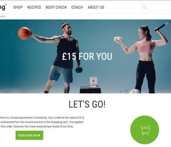 Foodspring discount invite, £15 bonus with Foodspring refer a friend offer