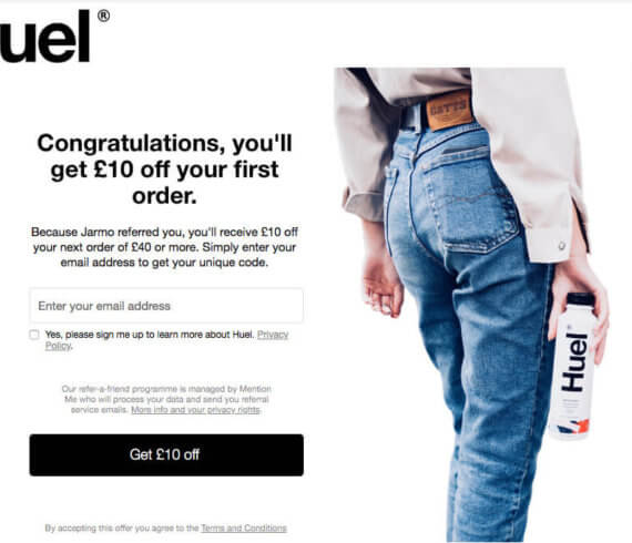 Huel referral code 10 off your first order at huel.com. Click this Huel invite link to get 10 off when you spend 40 or more at Huel.