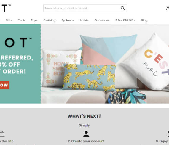 IWOOT discount code for 25% off on your first order of £20 or more