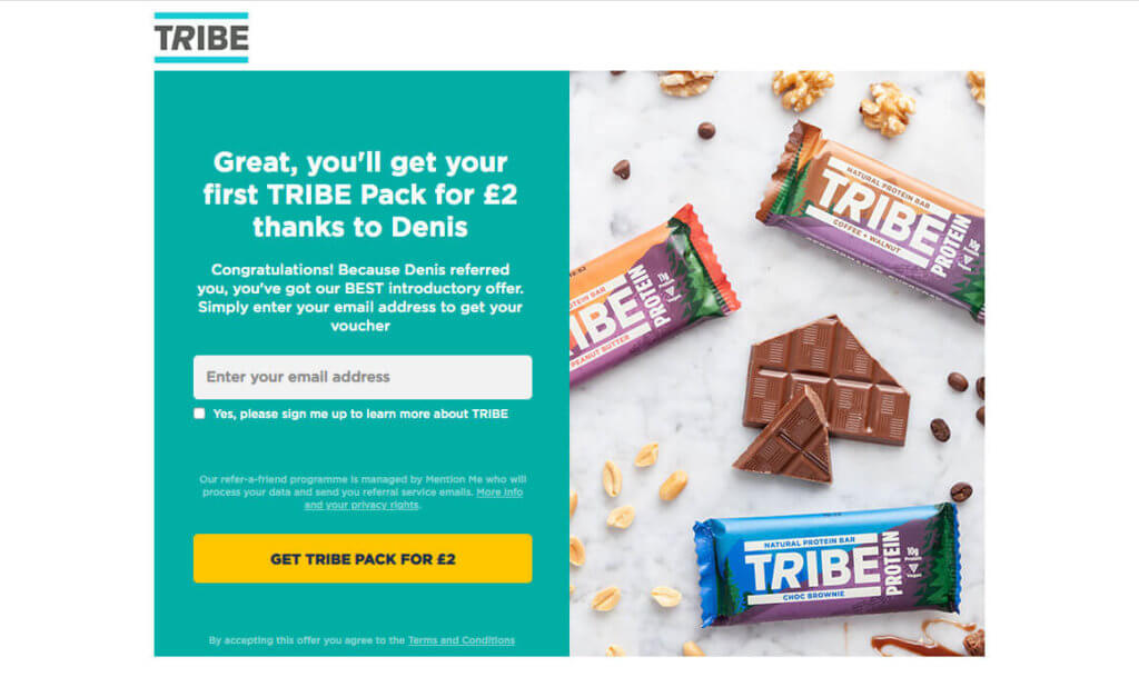 Tribe snacks referral code Tribe trial with the refer a friend offer 2020