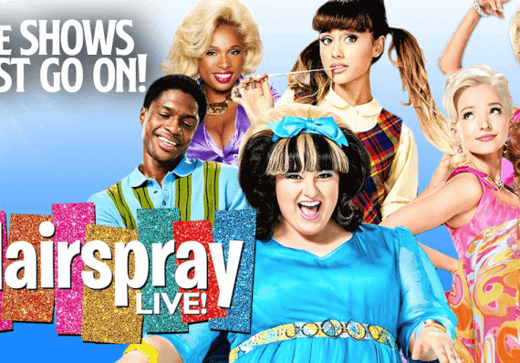 Hairspray Live! FREE online (for 48 hrs only).