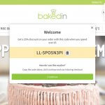Bakedin referral code 25% OFF discount code with the refer a friend offer