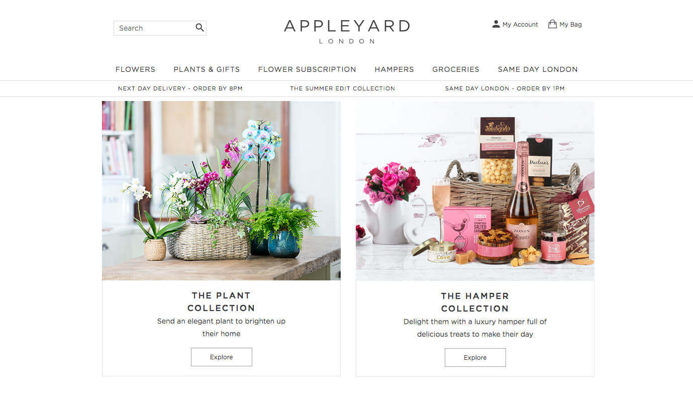 Appleyard Flowers London discount code