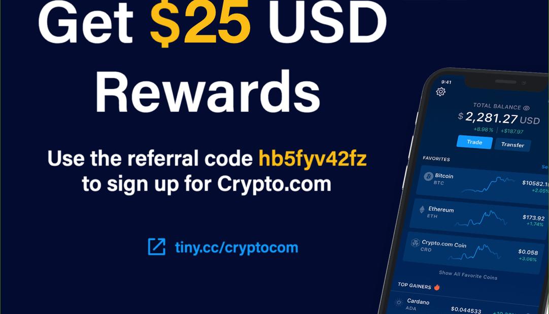 Crypto joining bonus, 50 USD rewards bonus, BG50, crypto review