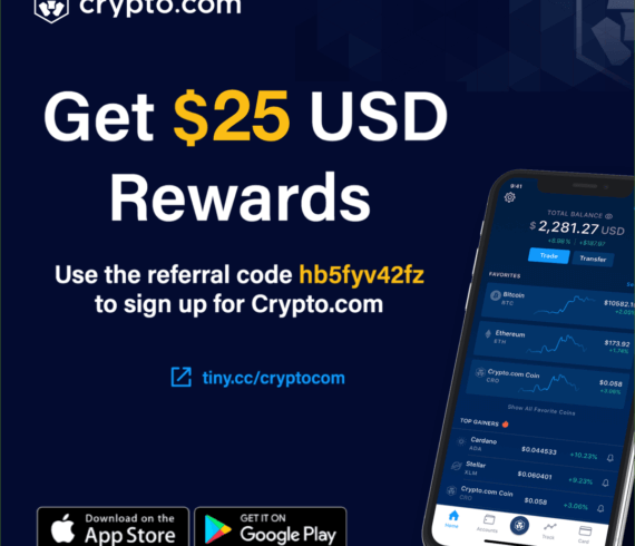 Crypto joining bonus, 50 USD rewards bonus, BG50, crypto review