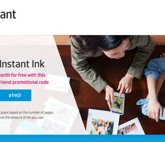 HP Instant Ink referral code - Instant Ink with + 1 month extra with this referral code