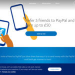 Paypal referral code invitation for £10 bonus
