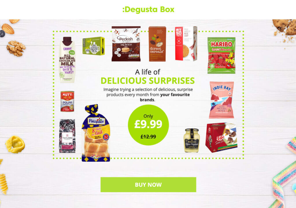 How to get a Degustabox discount code (refer a friend code) on your first order?