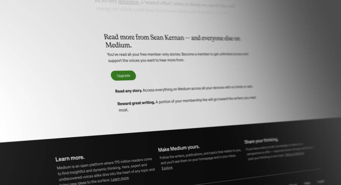Medium membership hack, how to bypass the medium story limit