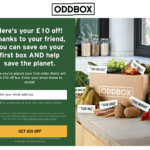 Oddbox referral code get £10 to spend with Oddbox