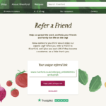Riverford refer a friend invitionat for 15 GBP on your next order