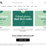 The Hut referral code discount 20% off discount for new customers